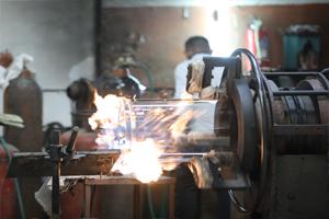 Glassware and Machinery