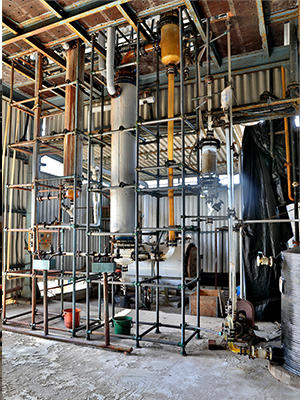 Gas Absorption Plant- HCL, SO2, Cl2, HBr