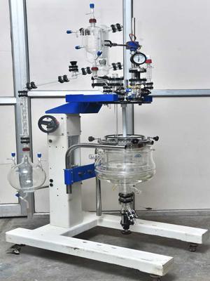Triple Wall Glass Reactor